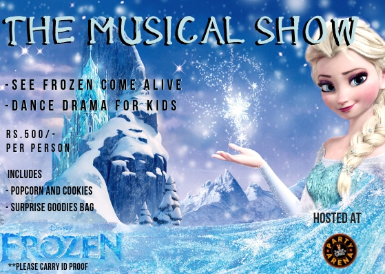 Frozen Musical E Pass 1