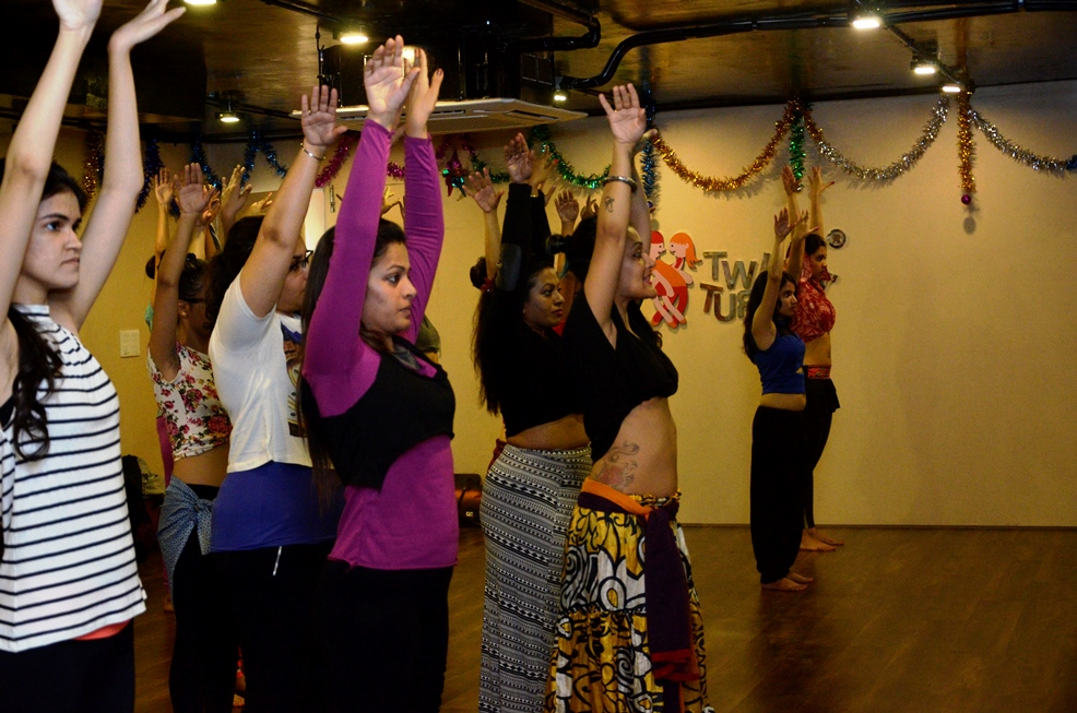 Meher Malik workshop at twist n turns